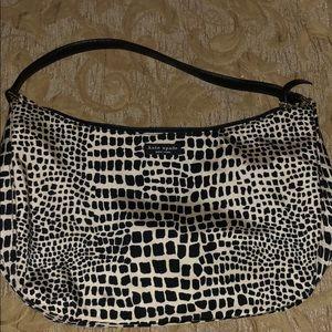 Leopard print Kate Spade purse.